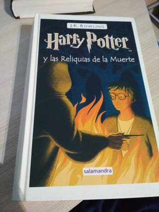 LIBRO HARRY POTTER 7