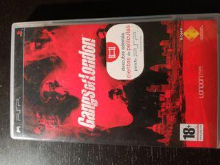 juego Gans of London PSP
