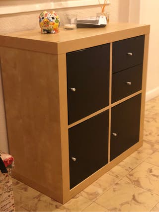Recibidor ikea de segunda mano en wallapop for Compro muebles segunda mano