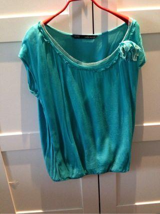Camisa gasa Zara