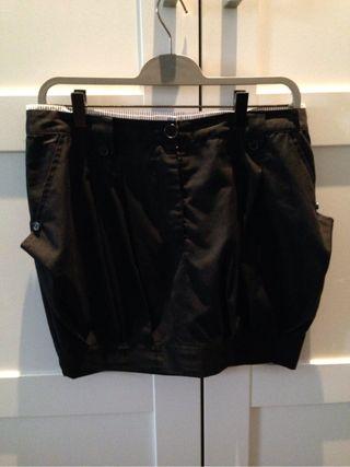 Falda corta algodón