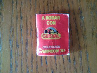 Catálogo miniatura coches Guisval model car 1981