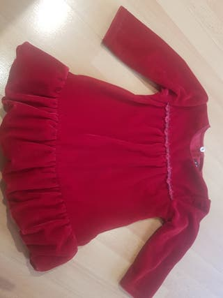 vestido niña 1 - 2 años
