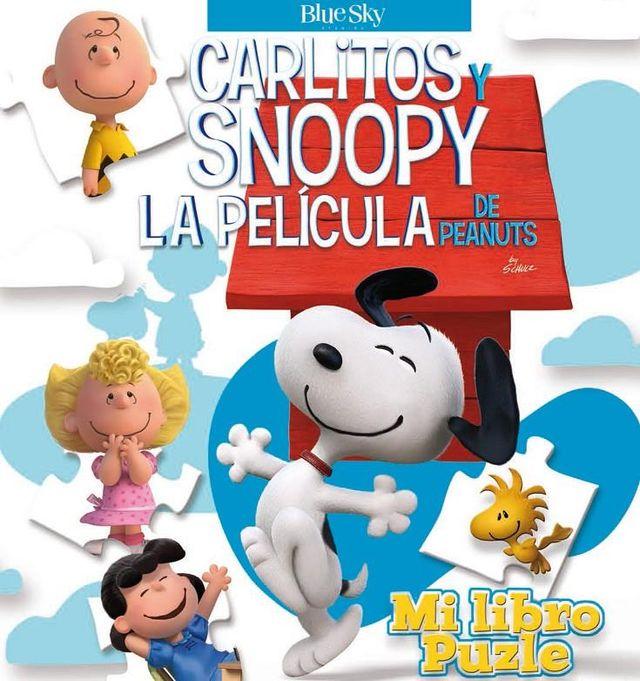 LIBRO PUZZLE CARLITOS Y SNOOPY