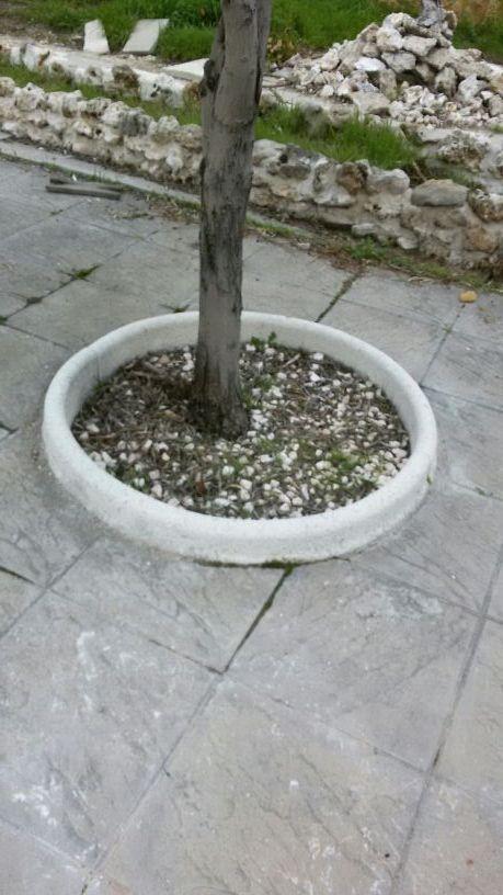 Alcorques de jardin