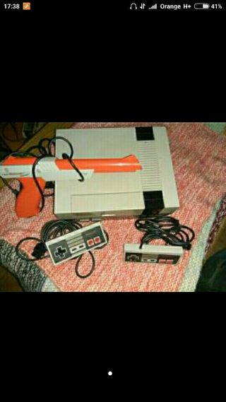 Nintendo NES + juegos