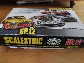 SCALEXTRIC GP 12