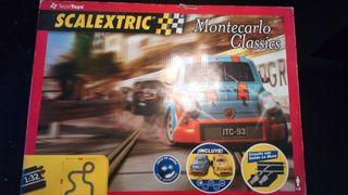 scalextric rally montecarlo classics