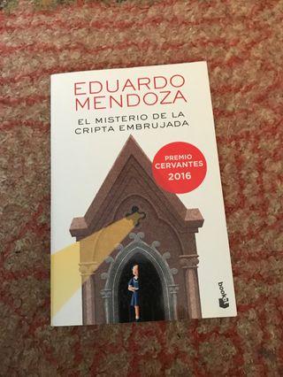 """Libro """"el misterio cripta embrujada"""""""