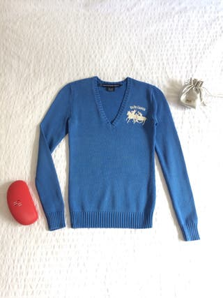 Jersey Ralph Laurent Talla S bonito color Azul