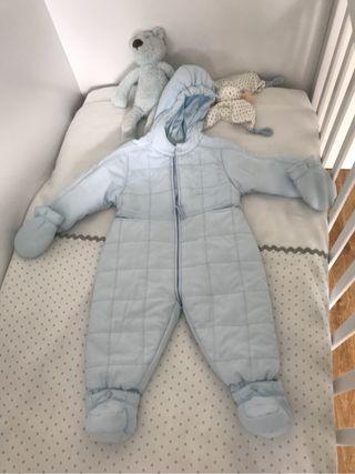 Buzo bebe azul
