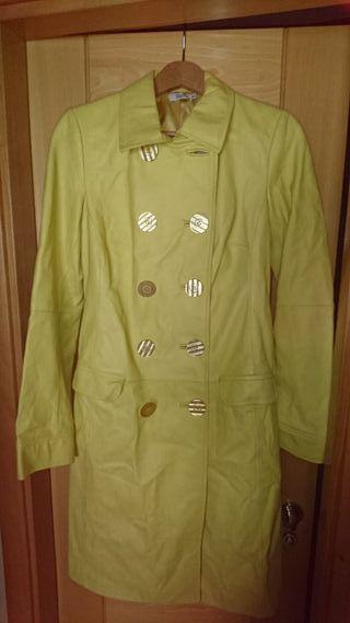 chaqueta piel sintetica