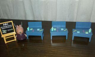 escuela peppa pig