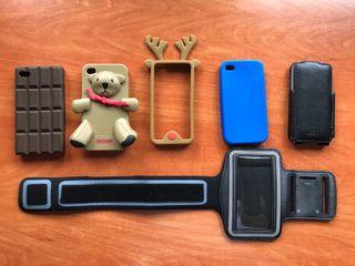 Pack fundas iPhone 4
