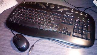 teclado y raton usb