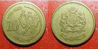 moneda 10 Dirham