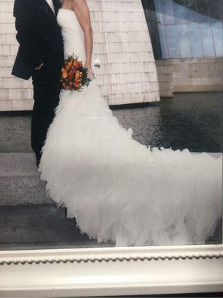 Vestido novia BABiECA