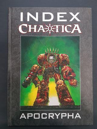 INDEX CHAOTICA APOCRYPHA - WARHAMMER 40000
