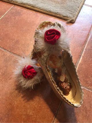 Zapato bella y bestia