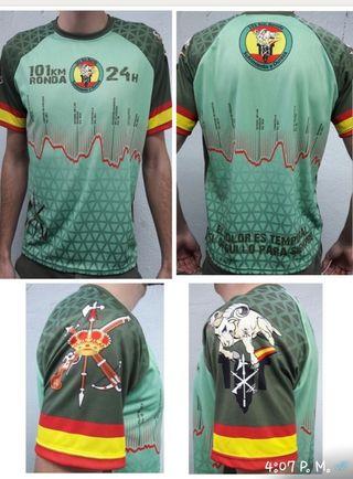 camiseta 101 km 2018 legión