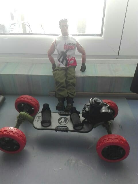 Action Man Skate De Segunda Mano Por 16 EUR En Zaragoza En WALLAPOP