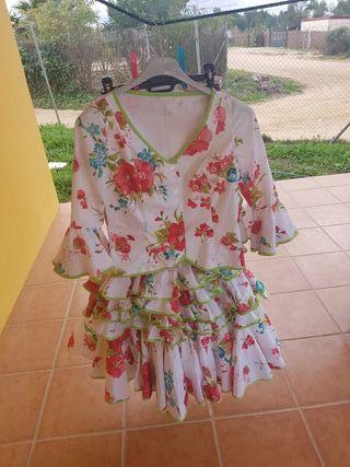 falda y corpiño flamenco
