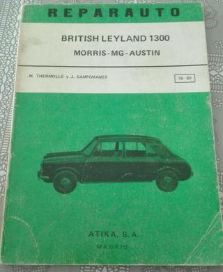Libro antiguo automóvil