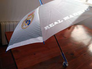 Paraguas automático Real Madrid nuevo, a estrenar