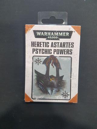 WARHAMMER 40000: Heretic Astartes Psychic Powers
