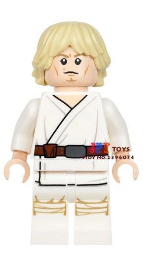 minifigura tipo lego Star Wars Luke Skywalker