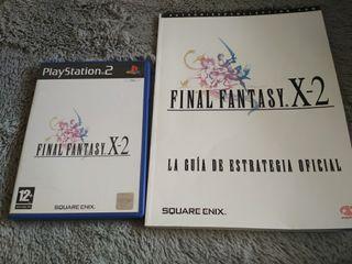 final fantasy x-2 más guía oficial