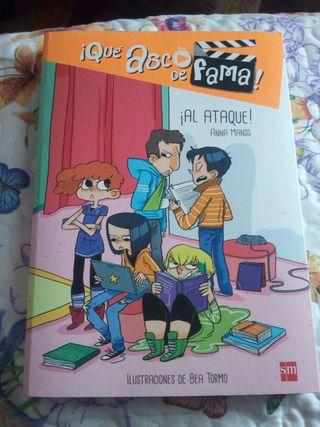 """3° libro de la colección """"Qué asco de fama"""""""
