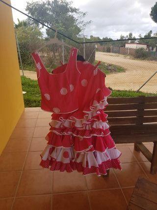 falda y corpiño