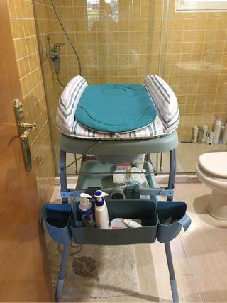 Chicco bañera/cambiador cuddle