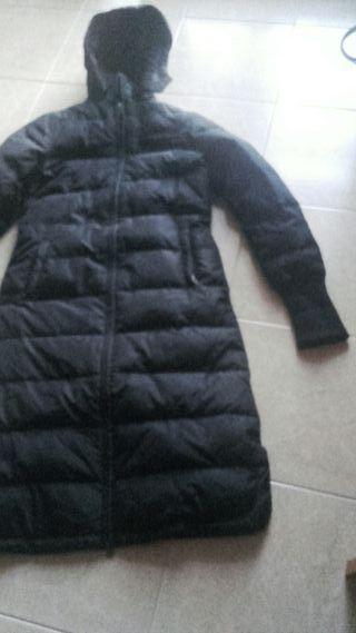 Plumas abrigo alcolchado Bershka talla M