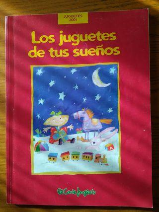 Catálogo de juguetes El Corte Inglés navidad 2001