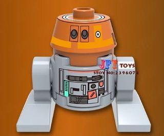 minifigura tipo lego Star Wars droide nuevo