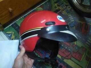 Casco moto Shiro años 80