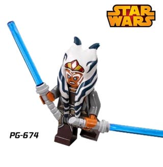 minifigura tipo lego Star Wars chica nuevo