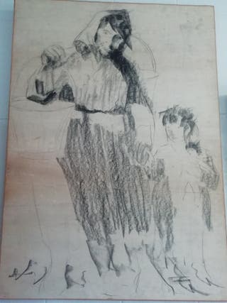 Cuadro lienzo Casimiro Mtnez Tarrassó