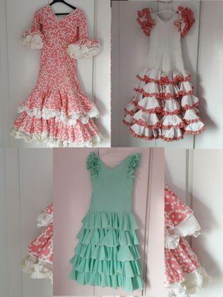 lote de 3 Trajes de flamenca