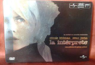 DVD LA INTERPRETE STEELBOOK METALICA