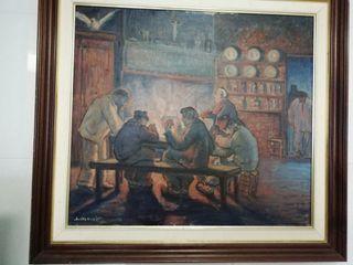 Cuadro lienzo Otto Lindstrom 1931