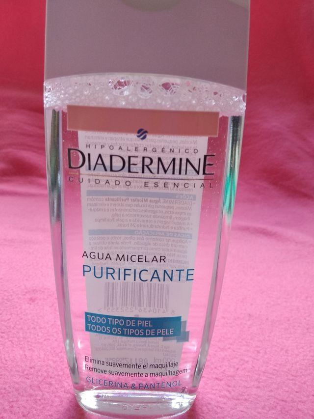 Agua micelar purificante Diadermine