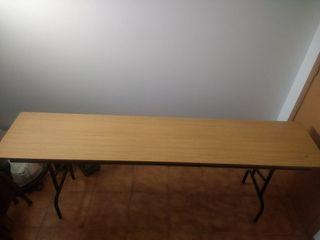 Mesas plegables catering / comida / hosteleria