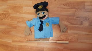 Marioneta Melissa and Doug Policia