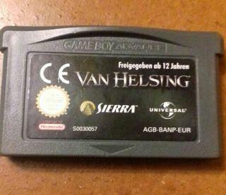 Videojuego VAN HELSING Game Boy Avance GBA