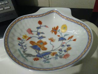 Vacíabolsillos porcelana francesa de Limoges