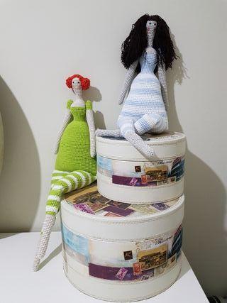 Muñecas Tilda crochet