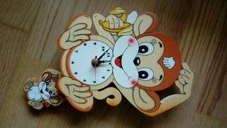 Reloj de pared infantil nuevo
